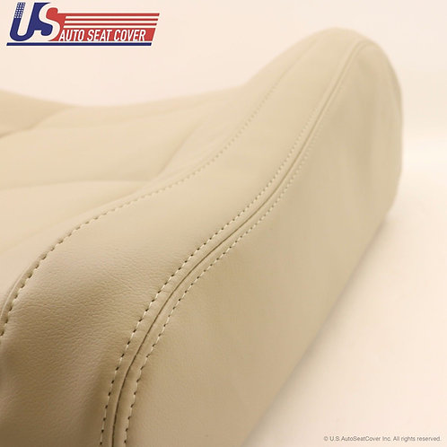 2003-2009 Lexus GX470 Front Lean Backs Leather Seat Cover in Tan