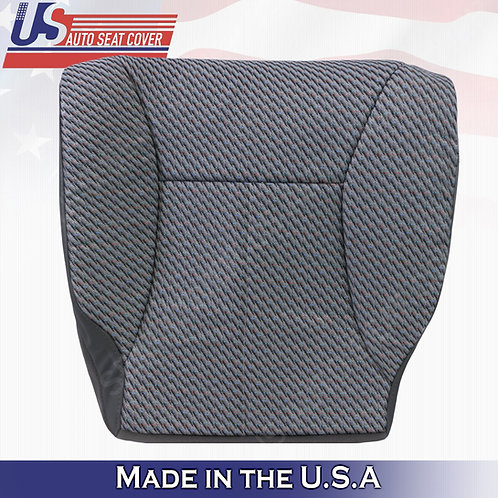 1998-2002 Dodge Ram WT Driver Bottom Seat Cover Dark Gray