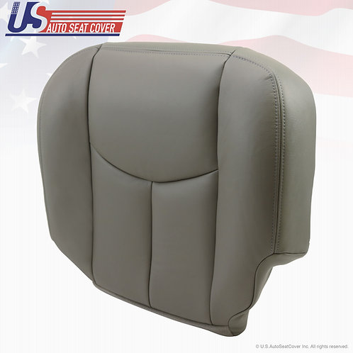 2003-2006 Chevy Tahoe Suburban Passenger Bottom Vinyl Seat Cover Gray 922
