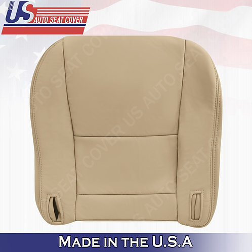 Fits 1997 to 2001 Lexus ES300 Passenger Bottom Leather Seat Cover Tan
