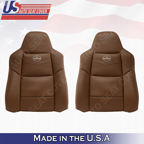 2002-2007 Ford F250 F350 King Ranch Driver & Passenger Top vinyl Seat Cover