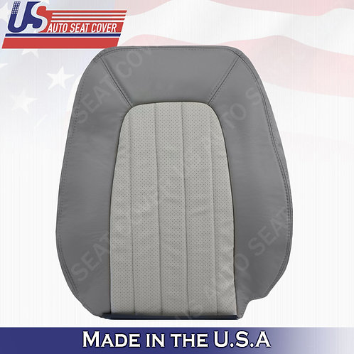 2002 - 2005 Mercury Mountaineer Passenger top Leather Seat 2tone gray