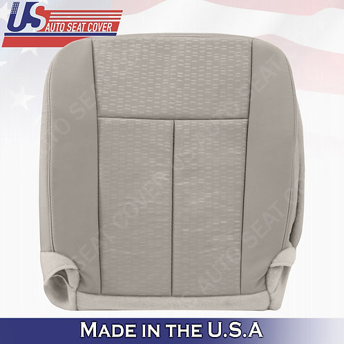 2007 To 2014 Ford Expedition Driver Side Bottom Cloth Seat Cover Gray