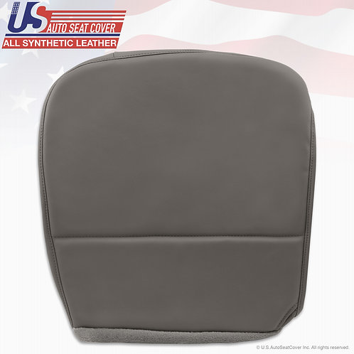 2008-2010 Ford F550 XL Work Truck Passenger Bottom Vinyl Seat Cover GRAY