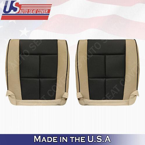 2011-2014 Lincoln Navigator Driver Passenger Bottom Perforated Cover 2tone Tan