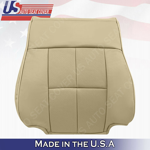 2007-2014 Lincoln Navigator-Driver Top Leather Replacement Cover Tan
