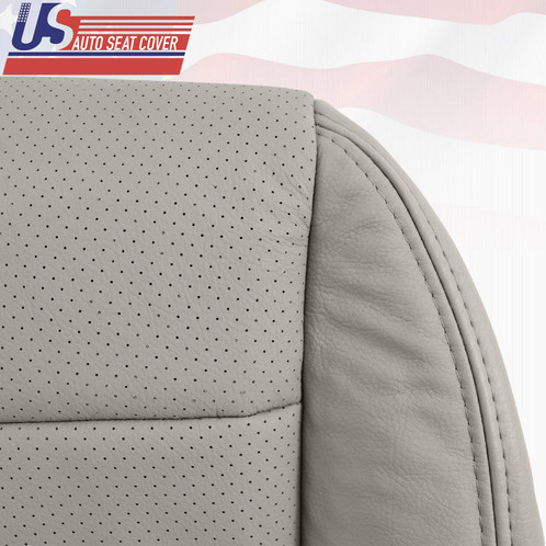 ACURA TL S PASSENGER BOTTOM PERFORATED LEATHER SEAT COVER GRAY - Acura tl leather seats