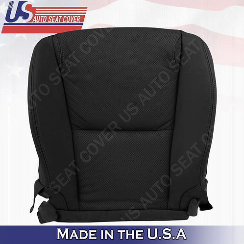 For 2006-2011 Lexus GS350 Passenger Bottom Perforated Leather Seat Cover Black