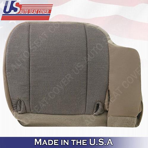 2000 2001 2002 Ford Ranger XL XLT Sport-Driver Side Bottom Cloth Seat Cover Tan