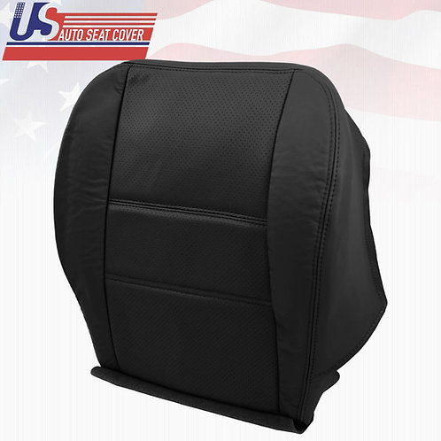 2001-2004 Nissan Pathfinder Driver Bottom Leather Perforated Seat Cover Black
