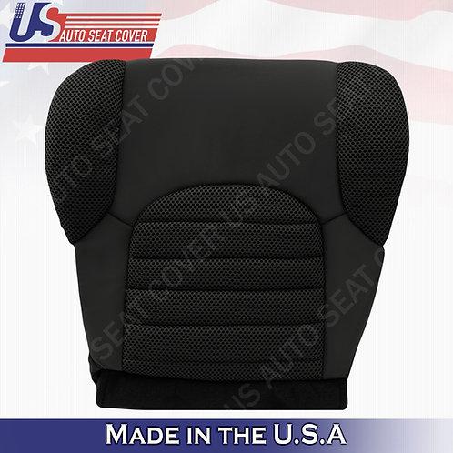 2007-2015 Nissan Pathfinder Passenger Bottom Cloth Dark Gray Seat Cover