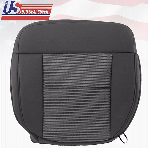 2004-2006 Ford F150 XLT Driver Bottom Cloth Seat Cover in Gray/dark gray
