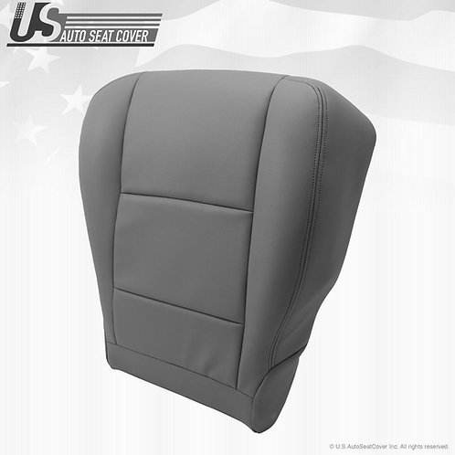 2000-2004 Toyota Sequoia Tundra Passenger Bottom Leather Seat Cover Gray