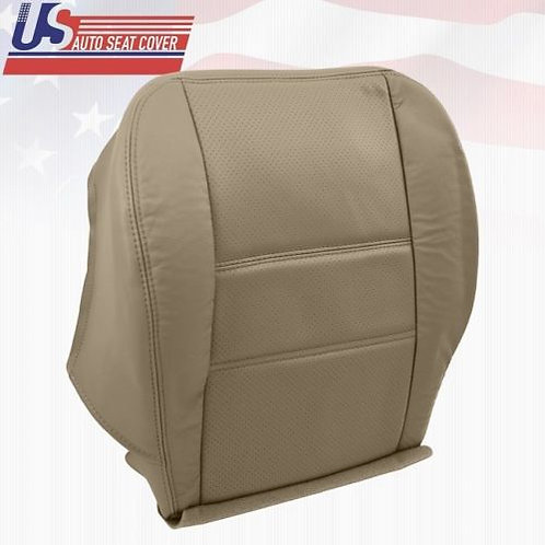2001 - 2004 Nissan Pathfinder Driver Bottom Leather Perforated Seat Cover TAN