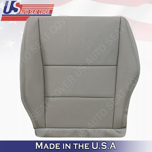 2007-2012 Acura RDX Driver bottom perforated leather in gray seat cover