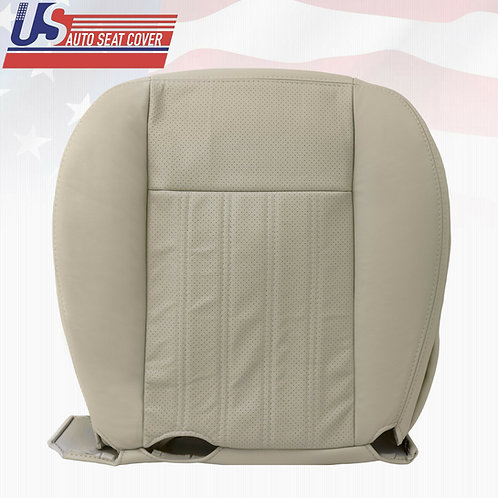 2003-2004 Lincoln Aviator Passenger Bottom Perforated Seat Cover Light Tan