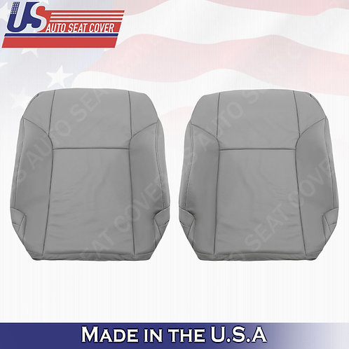 For 2003 -2009 Toyota 4Runner Driver & Passenger Top leather seat cover Gray