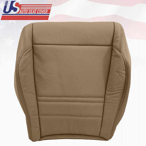 1998-2001 FORD EXPLORER XLT LEATHER PASSENGER BOTTOM REPLACEMENT SEAT COVER TAN