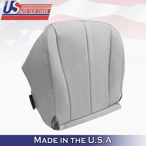 For 2007-2011 Toyota Camry Passenger Bottom Leatherette Seat Cover Gray