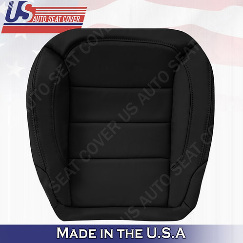For 2012-2015 Mercedes-Benz ML350 Passenger Bottom Leather Seat Cover Black