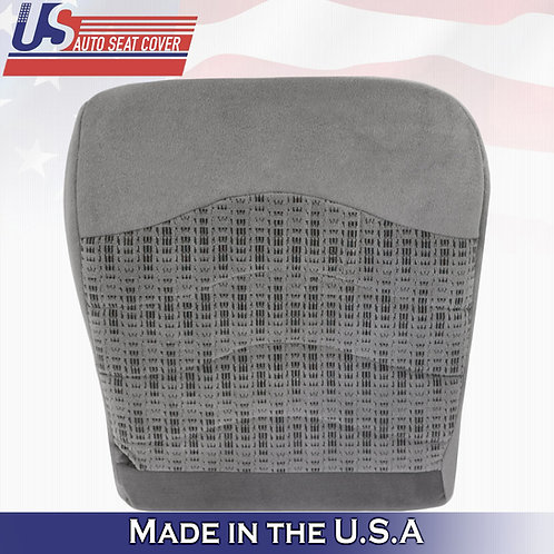 DRIVER BOTTOM CLOTH SEAT COVER GRAY 2000 FORD F250 F350 F450