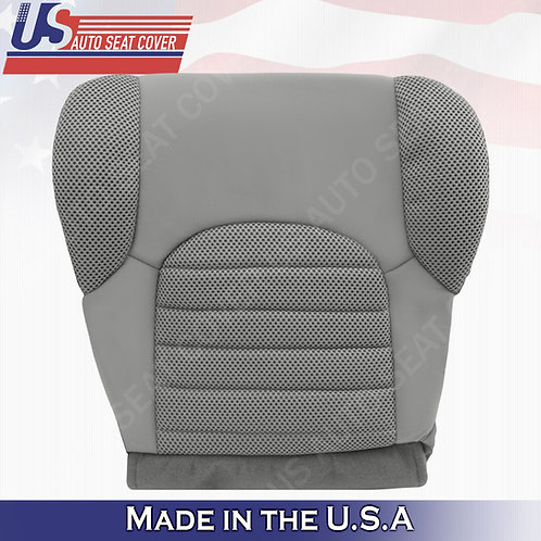 2007- 2015 Nissan Pathfinder Passenger Bottom Cloth seat covers in gray
