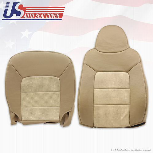 2003-2006 Expedition Eddie Bauer driver top and bottom perforated leather Covers
