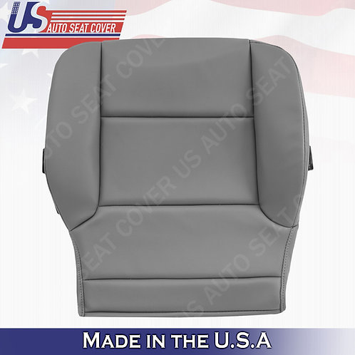 2014-2019 Chevy Silverado WT HD-Passenger Side Bottom vinyl Seat Cover Gray