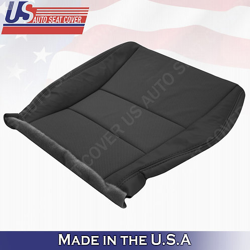 2007-2012 Acura RDX Passenger bottom perforated leather in black seat cover