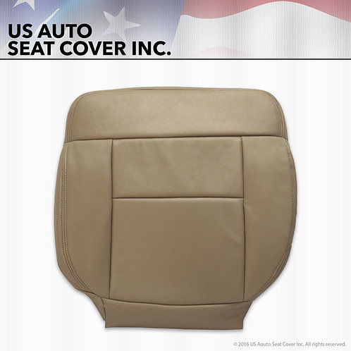 2005 to 2008 Ford F-150 PASSENGER bottom Vinyl Seat Cover Parchment Tan
