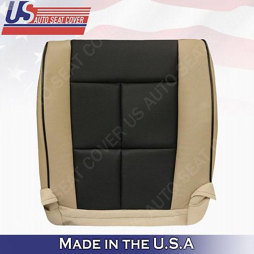 2011-2014 Lincoln Navigator Passenger Bottom Perforated Cover 2toneTan black