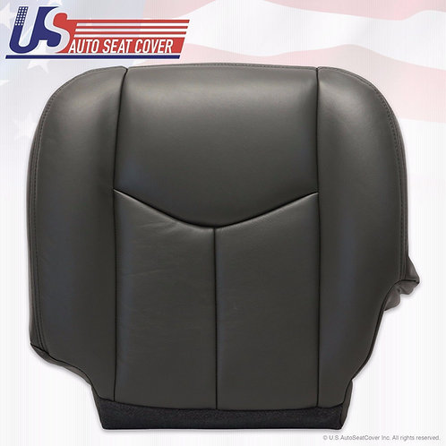 2003-2006 GMC Sierra Driver Bottom Seat Cover Replacement Dark Gray