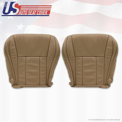 For 1996-2002 Toyota 4runner Driver-Passenger Bottom Leather Seat cover Tan