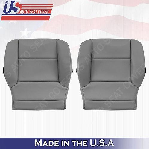 2014-2019 GMC Sierra WTBase- Driver-Passenger Side Bottom Vinyl Seat Cover Gray