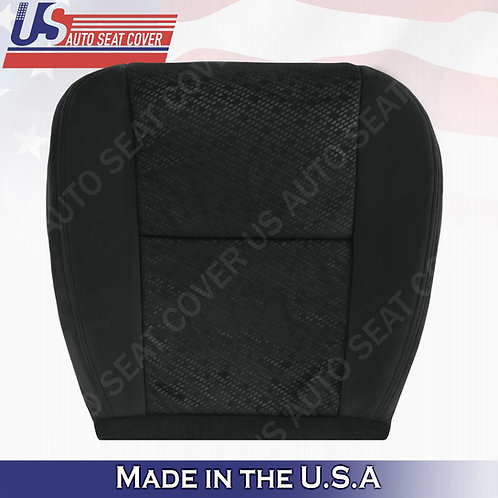 2007 2008 Chevy Silverado Passenger Bottom Cloth Seat Cover Black