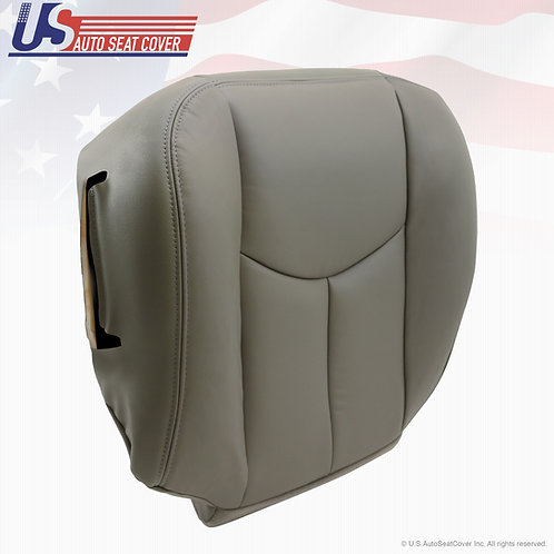 2003-2006 Chevy Tahoe Suburban Passenger Bottom vinyl Seat Cover Gray