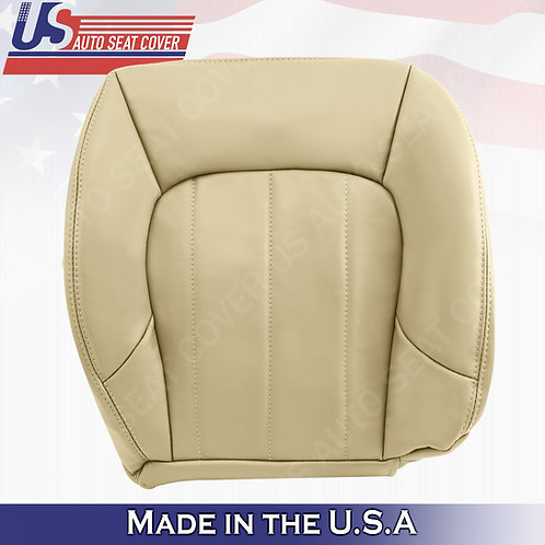 2002-2009 GMC Envoy XL Passenger Bottom Leather Seat Cover Oak Tan