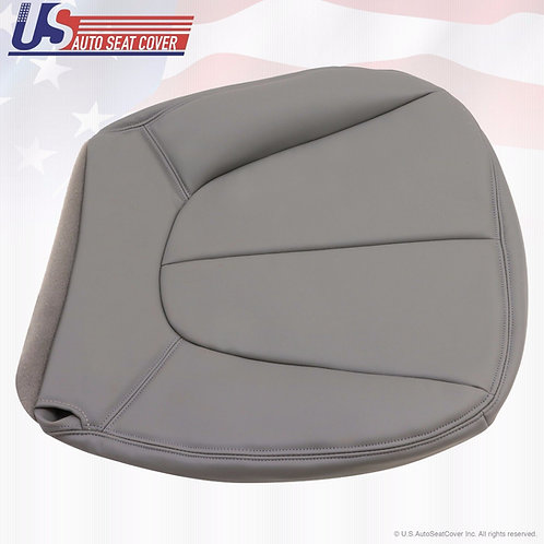 1997-2002 Ford Expedition XLT Driver Bottom Vinyl Seat Cover Gray