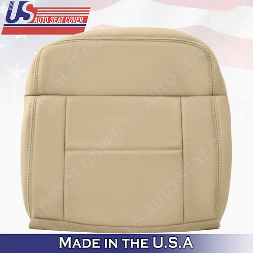 2004-2007 Ford F150 Lariat REAR Passenger Bottom Leather Light Tan Replacement