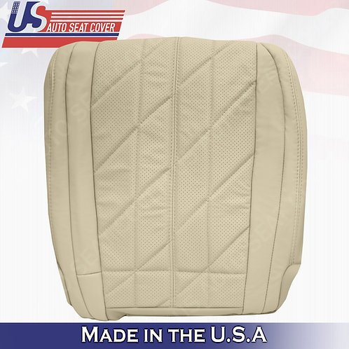 For 2009-2017 Infinity FX35 FX37 FX50 Driver Bottom Perforated Leather Cover Tan