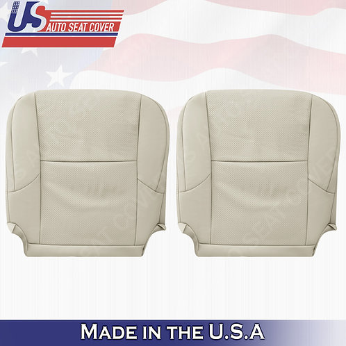 Driver Passenger Bottom Leather seat cover TAN for 2010 to 2017 Lexus GX460