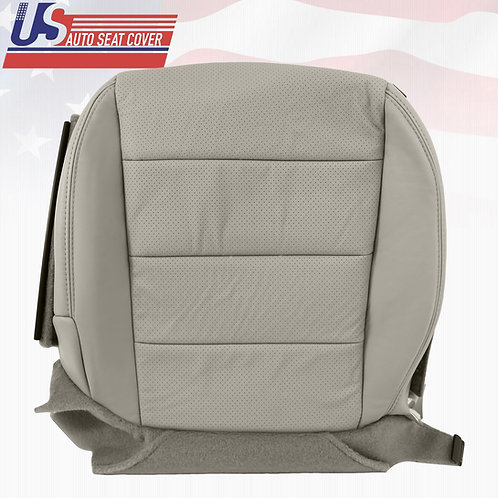 2007-2008 ACURA TL S PASSENGER BOTTOM PERFORATED LEATHER SEAT COVER GRAY