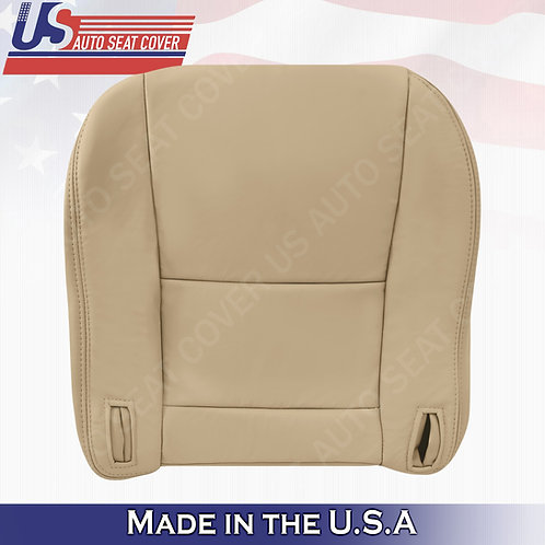 Fits 1997-2001 Lexus ES300 Driver Bottom Leather Seat Cover Tan