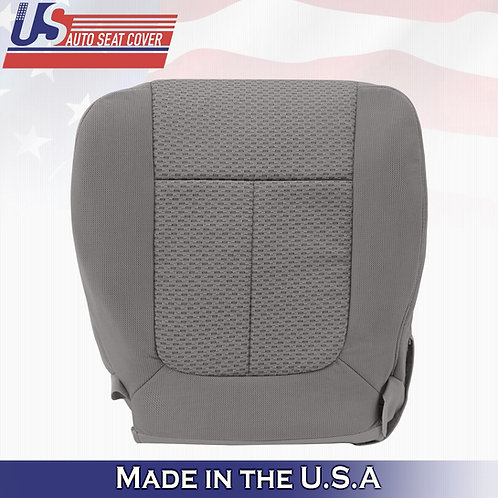 2009-2010 Ford F150 XTR FX4 FX2 DRIVER Bottom Cloth Seat cover in Med Stone Gray