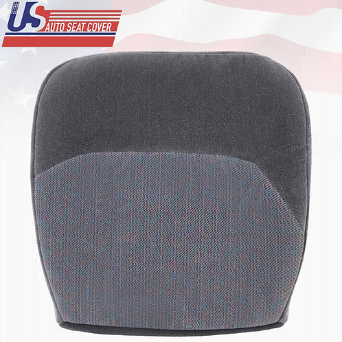 1994-1997 Ford F150 F250 XLT Passenger Bottom Cloth Seat Cover Opal Gray R6