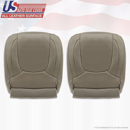 2003-2005 Dodge Ram Laramie Front Bottom seat cover Taupe