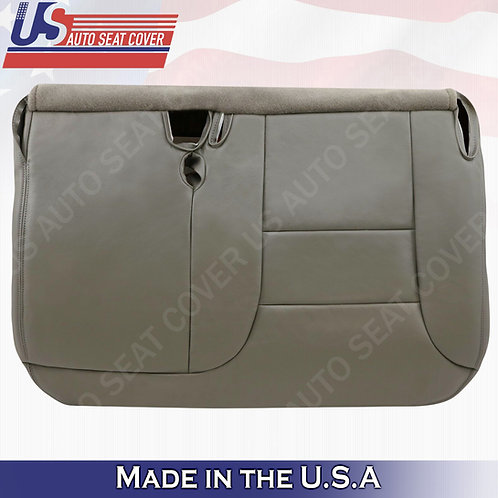 1995 1996 1997 1998 1999 Chevy Split Bench Bottom Seat Cover Gray 60/40 Leather