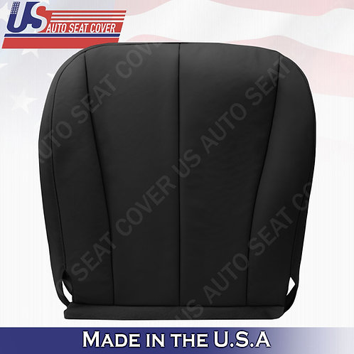 For 2007-2011 Toyota Camry Passenger Bottom Leather Seat Cover Black