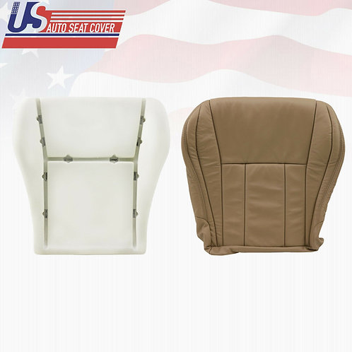 Tan Leather Bottom Seat Cover + Foam for 1996-2002 Toyota 4runner