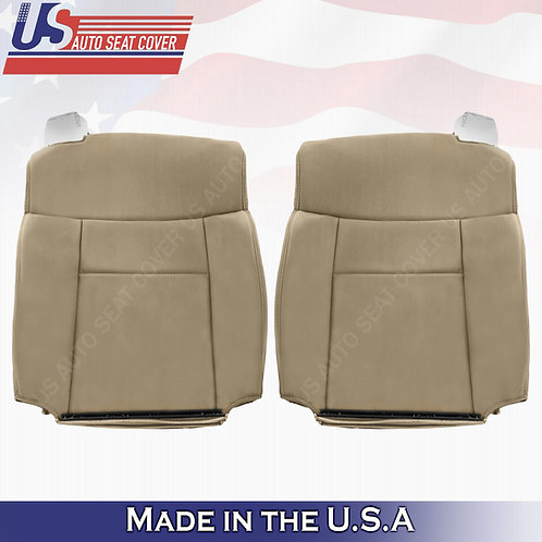 2004-2008 Ford F-150 Driver & Passenger Top Cloth Seat Cover in Tan